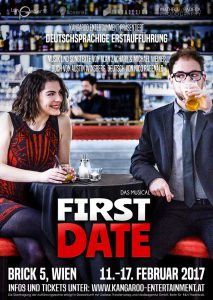 Deutschsprachige Erstaufführung von »First Date« in Wien. Foto: Matheo Radeck Photography